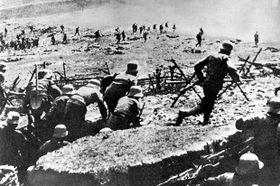 Österreichische Soldaten im Ersten Weltkrieg