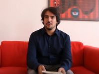 Juan Pablo Bertazza, foto: Canal YouTube de Praha město literatury