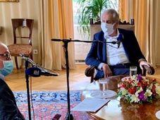 Милош Земан, фото: Jaromír Nikl, Чешское радио