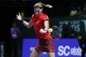 Petra Kvitová, photo: AP Photo/Vincent Thian