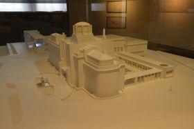 Modelo de ampliación del Museo Municipal