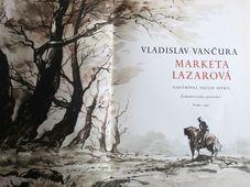 Repro photo: Vladislav Vančura 'Marketa Lazarová' / Československý spisovatel