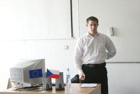 Benedikt Vangeli, photo: Archive of Masaryk University in Brno
