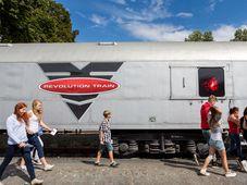 "Foto: Revolution Train /  Stiftungsfond ""Nové Česko"" und Pavel Tůma"