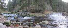 Les rivière Vydra et Křemelná, photo: Krabat77, CC BY-SA 3.0