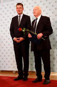 Tomáš Petříček et Miloš Krajný, photo: Barbora Němcová