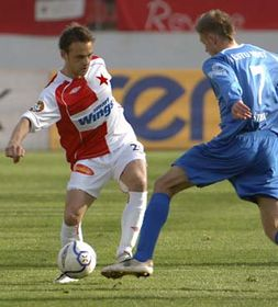 Slavia Prague - Most, photo: CTK