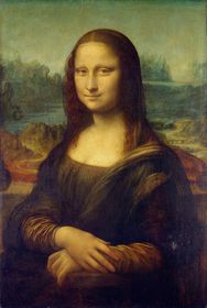 Mona Lisa, photo: Public Domain