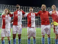 Slavia Prague - CFR Cluj, photo: ČTK/Kateřina Šulová