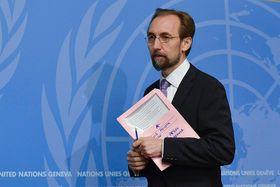 UN Human Rights Commissioner Zeid Ra'ad Al Hussein, photo: UN