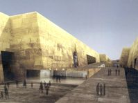 Czech project of the new Grand Egyptian Museum