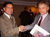 Luis Fernando Sanabri y Štěpán Zajac, foto: www.mzv.cz