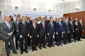 Czech and Slovak governments in Bratislava, photo: CTK