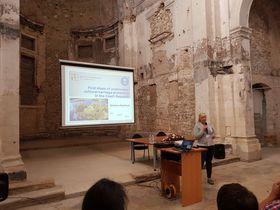 Conférence internationale d'Archéologie Subaquatique de Zadar, photo: M. Popek