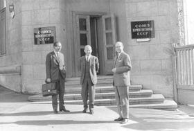 Jiří Šust (uprostřed), foto: archiv Jany Šustové