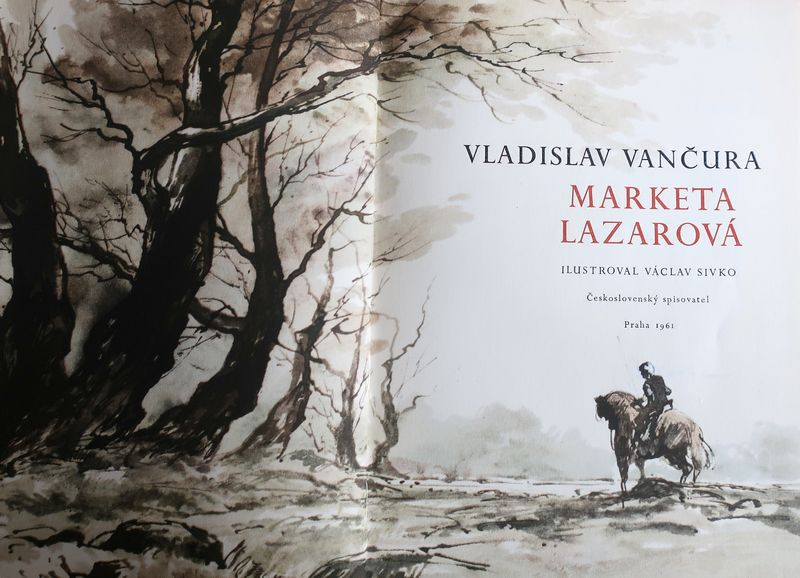 Photo repro: Vladislav Vančura 'Marketa Lazarová' / Československý spisovatel