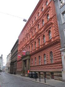 Communist Party headquarters in Prague, photo: Anette Kraus