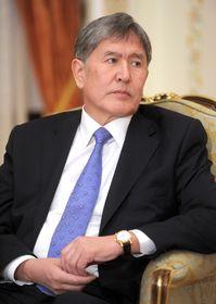 Алмазбек Атамбаев, Фото: Официальный сайт президента Российской Федерации
