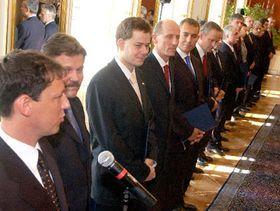 Nová vláda, foto: ČTK
