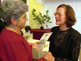 Gaby Flatow (rechts, Foto: ČTK)