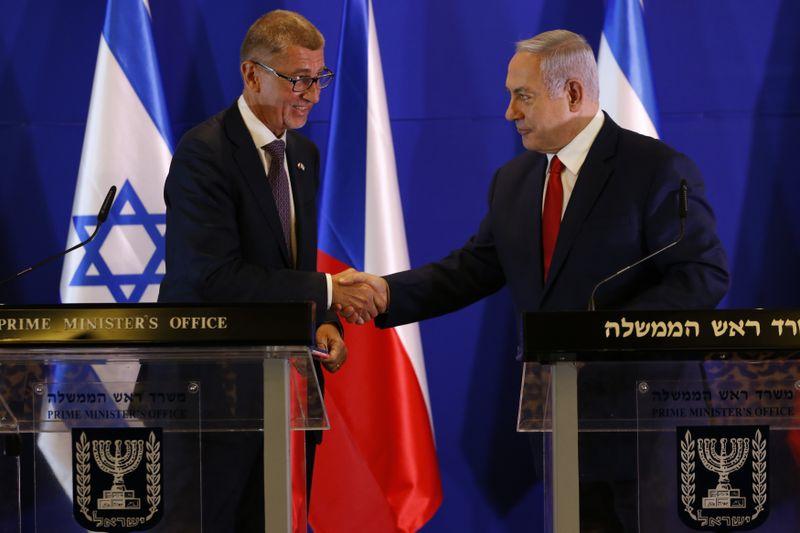 Andrej Babiš et Benyamin Netanyahou, photo: ČTK/AP/Ariel Schalit