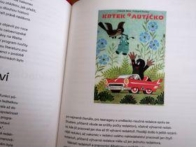 Krtek de Zdeněk Miler, photo: repro Albatros: 70 let na křídlech dětské literatury / Albatros