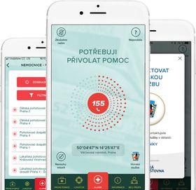 Mobilní aplikace Záchranka, foto: Záchranka app