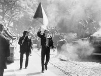Russian-led invasion of Czechoslovakia in 1968, photo: CIA, Flickr, Public Domain