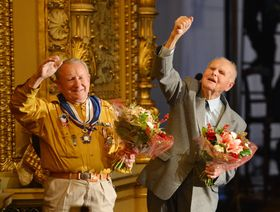 František Zahrádka y Josef Holec, foto: ČTK