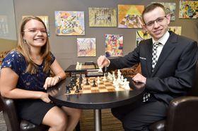 Kristýna Petrová und David Navara (Foto: ČTK / Vít Šimánek)