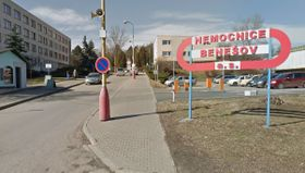 Benešov hospital, photo: Google Maps