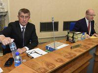 Andrej Babiš et Bohuslav Sobotka, photo: ČTK