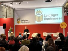 Buchmesse in Leipzig (Foto: Wikimedia Commons, CC BY-SA 4.0)