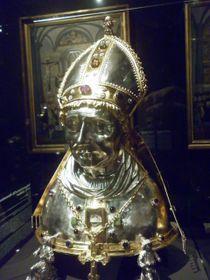 Busta sv. Vojtěcha,  foto: Zdeňka Kuchyňová