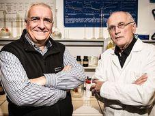 Радим Грдина и Ладислав Бургерт, фото: Университет Пардубице