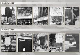 """Zeitschrift """"Západ"""" (Foto: Archiv des Instituts für das Studium totalitärer Regime)"""