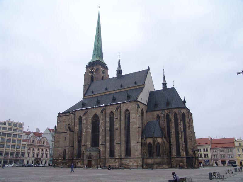Собор св. Варфоломея в Пльзене, фото: Милош Турек