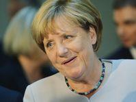 Ангела Меркель во время визита в Прагу, Фото: ЧТК