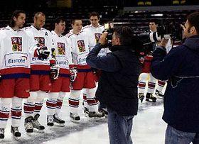 Czech Ice Hockey team, photo: CTK