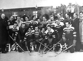 Czech team in Sweden, 1949, photo: CTK