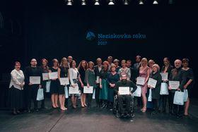 Übergabe der Auszeichnungen für die Non-Profit-Organisationen des Jahres (Foto: Archiv NROS)