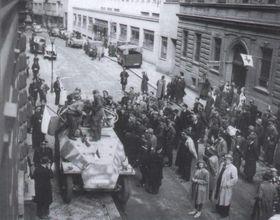 Солдаты РОА в Праге, май 1945 г.