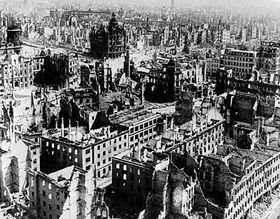 Dresden in February 1945, photo: CTK