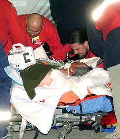 Раненные были доставлены в Прагу (Фото: ЧТК)