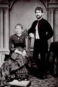 Leoš Janáček and his wife
