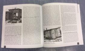 """Wohnbude und -hütte in Ústí nad Labem-Klíše (Quelle: Buch """"Die im Dunkeln leben"""", Stadtmuseum Ústí nad Labem, 2019)"""