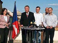 Representantes del Partido Cívico Democrático (Foto: CTK)