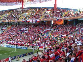 Los hinchas checas en la Eurocopa 2004, foto: StaraBlazkova, CC BY-SA 3.0