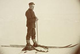 Roald Amundsen (Foto: Nasjonalbiblioteket, Flickr, Public Domain)