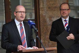 Премьер-министр Богуслав Соботка (Фото: Филип Яндоурек, Чешское радио)